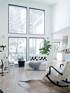 Contemporary interior design – More Interior Trends To Not Miss. 36 Awesome Modern Decor Ideas For Starting Your Home Improvement – Contemporary interior design – More Interior Trends To Not Miss. Modern Room, Modern Decor, Dream House Pictures, White Interior Design, Contemporary Interior, Scandinavian Home, Easy Home Decor, Traditional Decor, Home Living Room