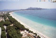 Playa de Alcudia (Island of MALLORCA) Spain