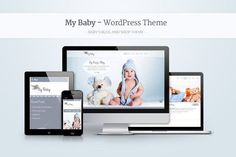 My Baby - Baby's Responsive WP Theme by Anariel Design on @creativemarket