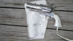 357 Magnum Vintage Novelty Hairdryer