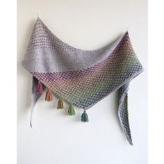 Kate Burge and Rachel Price Fever Dreams Shawl Pattern - Patterns