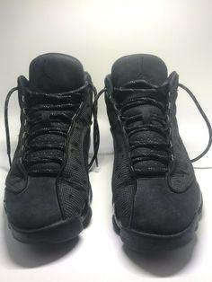 1eecb1769e795d Air Jordan Retro 13 s Size 8.5 Black Cat Colorway  fashion  clothing  shoes