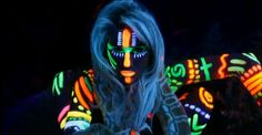 The Fall Naked Painting Party – Tonight!!! IN BLACK LIGHT! (Event ...