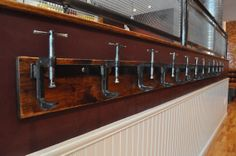 C Clamp Coat Rack Extended by urbanwoodandsteel on Etsy, $250.00