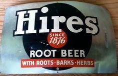 Authenrtic Vintage Metal HIRES Root Beer by offthewallelegance, $60.00