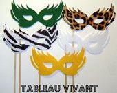 #mardi gras masks #photobooth props on a stick