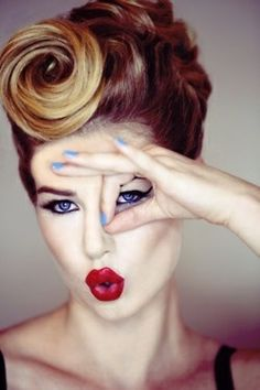 Category » Hair and Beauty Styles « @ Hair Color and Makeover Inspiration annnnnd the makeup(: