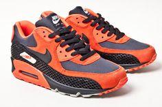 Nike Air Max 90 Premium Women's Shoe FireberryPink Pow