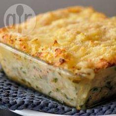 Escondidinho de bacalhau com batata gratinado @ allrecipes.com.br