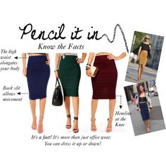 """Pencil it In"" by windsorstore on Polyvore"