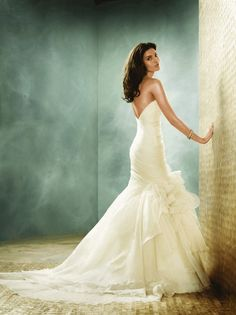 Jim Hjelm  Wedding Dresses Photos on WeddingWire--I think this is breath taking!