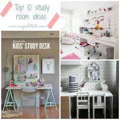Ritorno a scuola: 10 idee per organizzare l'angolo studio * Back to school: 10 study room ideas