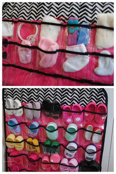 Using A Jewelry Hanger to Hold American Girl Shoes & Accessories