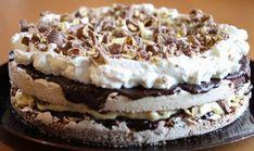 Smash-kake kan lages i langpanne Baking Recipes, Cake Recipes, Snack Recipes, Dessert Recipes, Snacks, Pudding Desserts, No Bake Desserts, Scones Ingredients, Norwegian Food