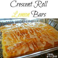 Lemon Bar Crescent Roll Recipe.