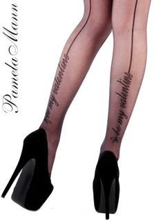 Pamela Mann Be My Valentine Tights - Tights, Stockings, Shapewear and more - MyTights.com - The Online Hosiery Store
