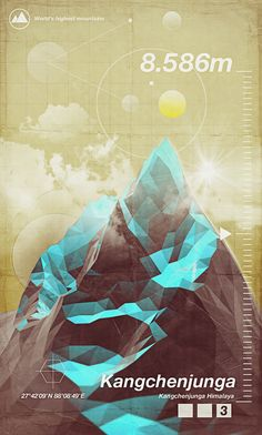 Highest Peaks by Giampaolo Miraglia, via Behance