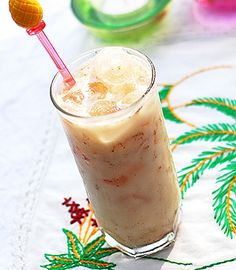 Horchata -- a rice and milk based drink that's enjoyed in Spain, Mexico, and southern California.