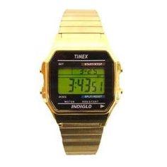 Timex old skool gold tone watch