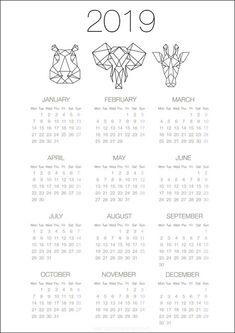 More Free Editable Templates, PDF templates, PSD templates. Free Calender, Calender Template, Calendar 2019 Printable, Diy Calendar, Print Calendar, Calendar Design, Printable Planner, School Calendar, Planner Tumblr