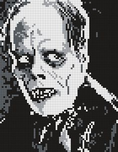 Lon Chaney Sr. As The Phantom Of The Opera by Maninthebook on Kandi Patterns