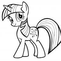 Resultado de imagen para contorno demy little pony para imprimir