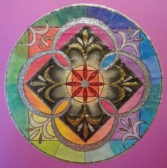 ☮ Mandalas Psychedelic ,  hippie, Indian, illustration, art, design ~