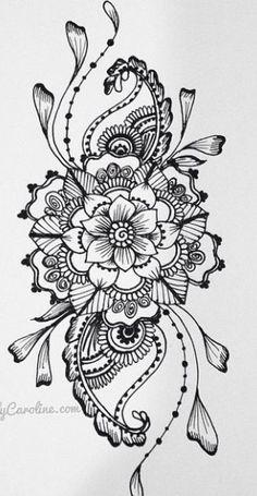 Mandala-Henna-Tattoo handgemachte Aquarell Print v… Mandala-Henna-Tattoo handgemachte Aquarell Print von KellyCaroline The post Mandala-Henna-Tattoo handgemachte Aquarell Print v… appeared first on Frisuren Tips. Bild Tattoos, Leg Tattoos, Arm Tattoo, Body Art Tattoos, Sleeve Tattoos, Lotus Tattoo, Tattoo Hand, Female Tattoos, Tatoos