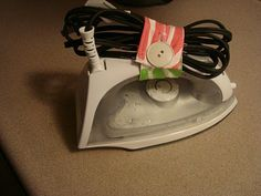 control those cords - hand-mixer, iron, etc.  link to tutorial