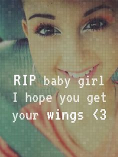 this girl right here is named talia she past away about 4 months ago. she is the strongest and most beautiful girl i have ever seen . she has left so many great things in this world and is greatly missed .RIP talia keep swimmng in heaven