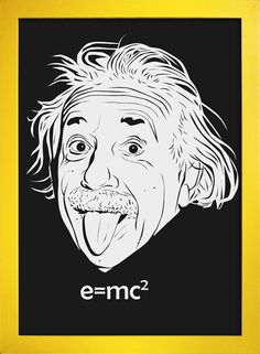 Poster Albert Einstein - comprar online