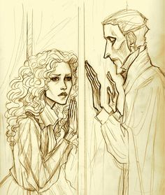The Phantom of the Opera - A Beautiful Thing--Sketch by Muirin007.deviantart.com