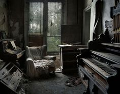 Rebecca Lillith Bathory from London has been capturing abandoned locations…
