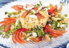 Insalata di riso con bottarga e ricotta salata