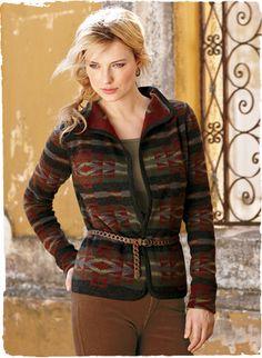 Taos Felted Baby Alpaca & Wool Jacket