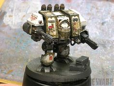 From the Warp: Dark Angels FW Venerable Dreadnought done