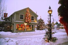 "the-christmas-corner: ""  ❆  Cozy Nights & Twinkling Lights  ❆ """