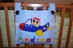Bottoni&Fantasia: Per Andrea...un bel porta-pigiama!