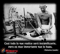 Lo que Realice Mahatma Gandhi