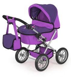 Bayer Design 13012 - Puppenwagen Trendy lila: Amazon.de: Spielzeug