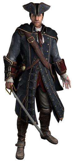 Haytham Kenway Assassin's Creed III and Assassin's Creed: Rogue
