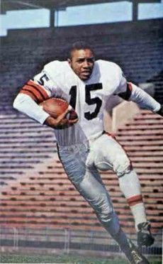 Willie Fleming 1963 Canadian Football League, National Football League, American Football, Cleveland Browns History, Nfl Cleveland Browns, Football Icon, Browns Football, Browns Fans, Football Conference