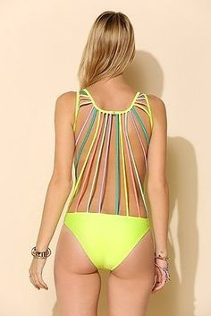 Kovey String-Back One-Piece Swimsuit | 21 Swimsuits That Are Going To Give You The Weirdest Tanlines Ever