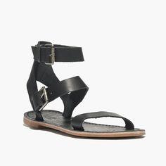 The Sightseer Buckle Gladiator Sandal
