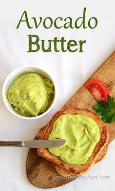 Avocado Butter- A healthier spread. Healthy recipe. Vegetarian Recipe. Vegan Recipe.