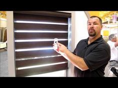 Lafayette Allure Dual Shade with Somfy Motors by 3 Blind Mice Window Coverings San Diego - YouTube