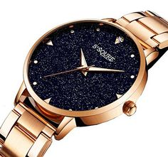 GuTe Women Blue Sandstone Dial Analogue Quartz Stainless Steel Bracelet Watch About GuTe Trade We Intend to Provide Customer with Cool Fashion Wristwatch Accessories Which Help You to Easily Spice up A Normal Outfit and Add Style and Attitude into Life. Not just a watch! Every Wristwatch Is... more details available at https://perfect-gifts.bestselleroutlets.com/gifts-for-women/clothing-shoes-jewelry-gifts-for-women/product-review-for-gute-women-quartz-watchrose-gold-stainles