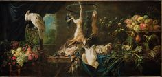 Adriaen van Utrecht (Flemish - Still Life- Game, Vegetables, Fruit, Cockatoo - Google Art Project - Адриан ван Утрехт — Википедия