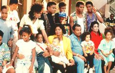 The Jackson Family from the 2300 Jackson Street Video. Appearances by Siggy Jackson, Rebbie Jackson, Tito Jackson, Randy Jackson, Jackie Jackson, Jermaine Jackson, Brandi Jackson, Katherine Jackson, Joe Jackson, and Michael Jackson, & Austin Brown.