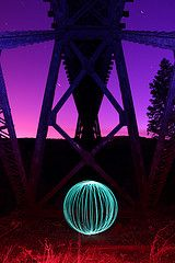 Light Painting – Creating The Orb   DIY Photography